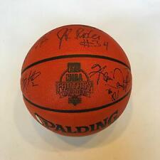 Rare Kevin Garnett Kareem Abdul Jabbar George Mikan Signed Basketball UDA COA