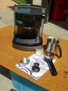 STARBUCKS BARISTA ZIA ESPRESSO CAPPUCCINO COFFEE MACHINE SIN 010 GOOD CONDITION