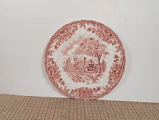 Churchill China England The Brook Pink Bread Plate 6 3/4""
