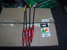 SENSAS erne sliders set/4 &ptfe match waggler attachments
