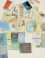 Lot of National Geographic Maps Vintage Inserts 25 Pieces 50s 60s 70s 80s