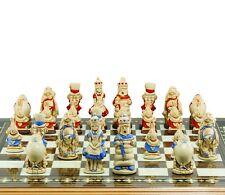 Studio Anne Carlton Chess Alice in Wonderland Handpainted