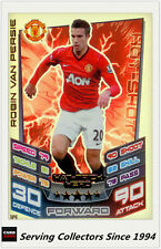 2012-13 Match Attax Extra Hat Trick Heroes Card H4 Robin Van Persie (Man. Utd.)