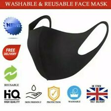 Face Mask  Washable  Adult Unisex UK Protective Covering Reusable