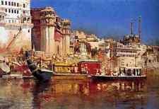 Metal Sign Weeks Edwin The Barge Of The Maharaja Of Benares A4 12x8 Aluminium