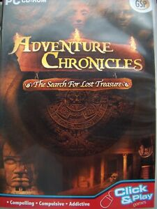 ADVENTURE CHRONICLES---THE SEARCH FOR LOST TREASURE---HIDDEN OBJECT---PC CD