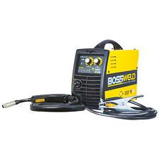 Bossweld M100 GASLESS MIG INVERTER WELDER 100Amp 240V, 10Amp Plug *Aust Brand