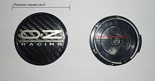 KIT 4 COPRIMOZZI BADGE CENTER CAPS OZ WHEELS 60 / 52 mm ORIGINAL 81310554