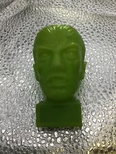 Vintage Plastic Pencil Sharpener Wolfman Monster Figure Green