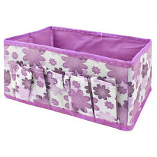 Wholesale Cosmetic Storage Box Bag Organiser Foldable Stationary Container