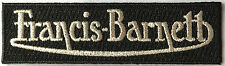 Francis Barnett iron on patch, classic british motorcycles, cafe racers,