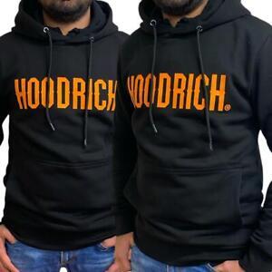 Mens Hoodrich King Hoodie Sweatshirt Jumper Sweats Hoody Casual Gym Top Black