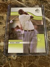 2012 SP Authentic Golf Card #61 Michael Jordan PS