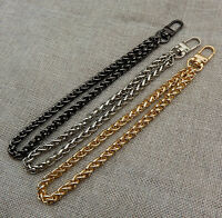 Metal Chain Small Handbag Wallet Handle Purse Strap Wristlet for Clutch Bag