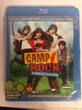 NIB Camp Rock Extended Rock Star Edition + Bonus Features 2008 Disney Blu-Ray