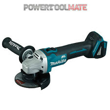 "Makita DGA454Z 18v Cordless Brushless Angle Grinder Li-on 115mm (4.5"") Body Only"