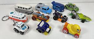 Hot Wheels Diecast Car Bundle of 11 - Loose Cars - Joblot - Matchbox