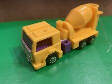 Transformers G2  Mixmaster, Yellow 1992 Constructicon Lot