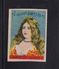 Ancienne   étiquette Allumettes Japon   AAA11065  Noorjehan