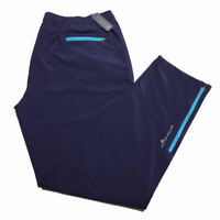 Peter Millar Crown Sport Pants 2XL Blue Workout Activewear Golf Mens NWT $85