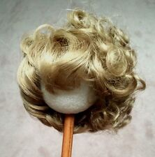 "WEE THREE  DK Blonde  ""Madeline  10-11 1/2 bangs  frame face curls top and back"