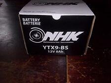 Batterie Moto Scooter Quad YTX9-BS CTX9-BS GTX9-BS 12V 8Ah CBTX9-BS NEUF