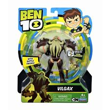 "2018 Ben 10 Vilgax Action Figure with Battle Sword 4"" - 5"""