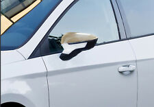 Seat Leon Mk3 HB 2012Up Chrome Mirror Cover 2pcs S.Steel