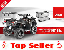 GIVI OBK110A ALU Koffer Trekker Outback für ATV und Quad, 110l silber, NEU