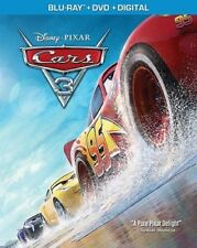 CARS 3 Blu-ray + DVD + Digital Copy ~ Brand New SEALED ~ Ships Free