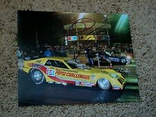 DON PRUDHOMME SIGNED 8X10 PHOTO coa NHRA DRAG RACER