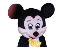 Halloween Mickey Mouse Head Mascot Costume fancy dress Cartoon Only Head