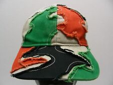 MULTI- COLOR EMBROIDERED - YOUTH SIZE ADJUSTABLE BALL CAP HAT!