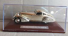 "DIE CAST "" MERCEDES-BENZ 500 K "" SILVER CARS COLLECTION ATLAS 1/43"