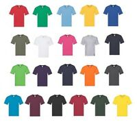 Mens Original V Neck T Shirts 5 or 10 Pack Fruit of the Loom White Black Random