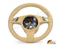 Porsche  911 958 970 987 997 Boxster Carrera Leder Panamera Lenkrad Neu Beziehen
