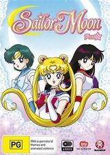 Sailor Moon : Part 1 : Eps 1-24 (DVD, 2015, 4-Disc Set) New Sealed Region 4 D227
