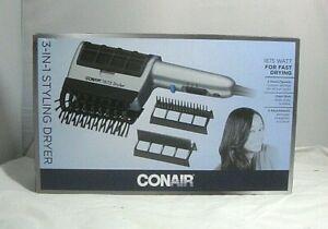 Conair 1875 Watt 3-in-1 Styling Hair Dryer