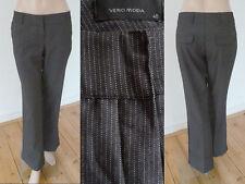 Vero Moda Hose Damen Business Look Bügelfalten StretchGrau Nadelstreifen 40 1A