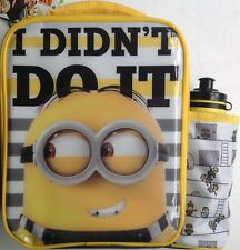 Despicable Me 3 Lunchbag / Lunch Bag with water bottle