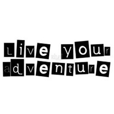 Riley & Co Inspirations Rubber Stamps Live Your Adventure