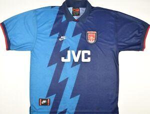 1995-1996 ARSENAL NIKE AWAY FOOTBALL SHIRT (SIZE XL)