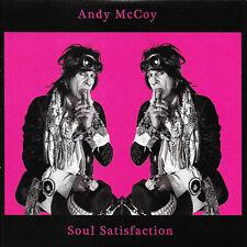 ANDY MCCOY - Soul Satisfaction EX COND LTD EDTN CD EP Hanoi Rocks/Suicide Twins