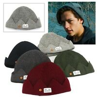 Jones Cosplay Crown Design Knitted Headwear Crown Cap Winter Warm Beanie Hat