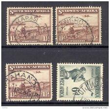 SOUTH WEST AFRICA,postmarks Karasburg,Keetmanshoop,Okahandja,Otjiwarongo (D)
