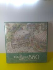 COBBLESTONE WAY - Marketplace - 550 PC - Puzzle Milton Bradley New & Sealed