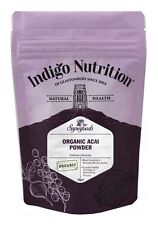 Organic Acai Berry Polvo - 50g-índigo Hierbas