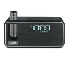 iHome iKN95B KINETA Dual Charging FM Stereo Alarm Clock Radio With Speakerphone