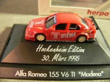 1/87 Herpa Alfa Romeo 155 V6 TI #18 Modena Hockenheim Edition März 1995 036382