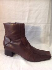 Jones Boot Maker Brown Ankle Leather Boots Size 37